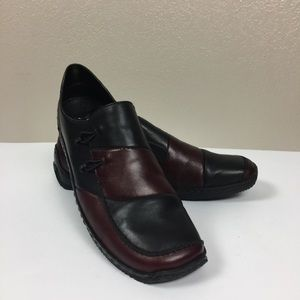 NEW Rieker Anti Stress Leather Slip On Loafers 10